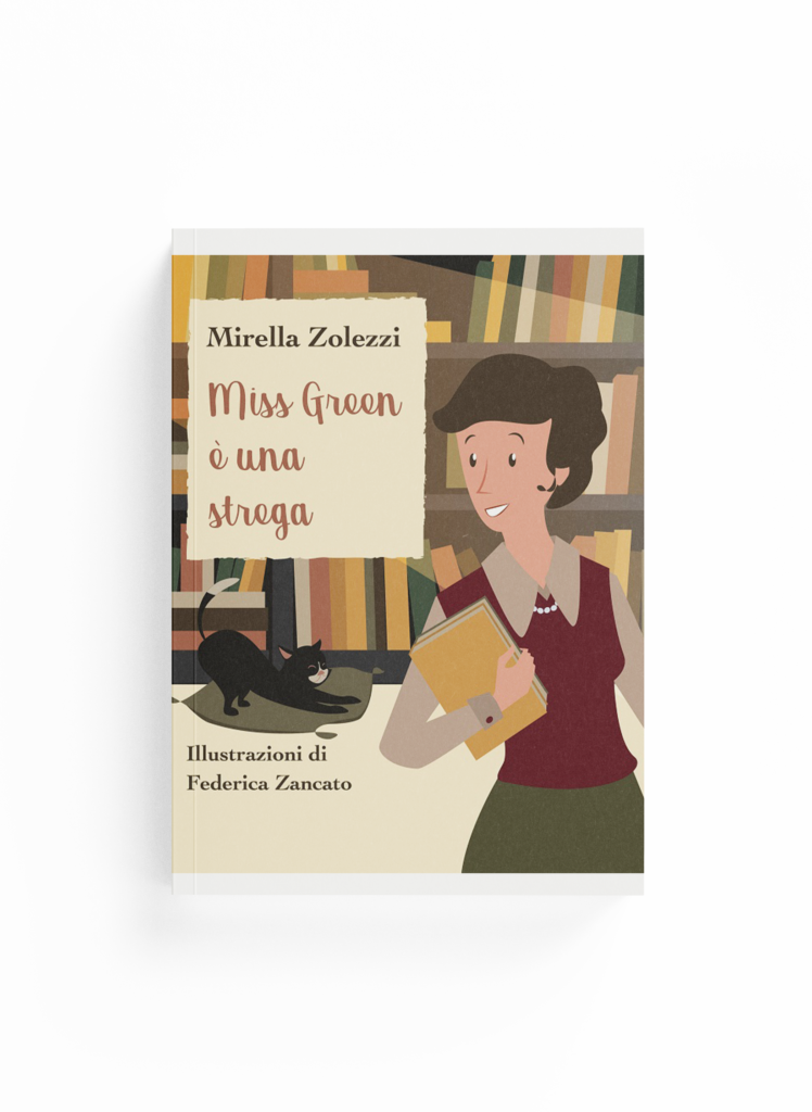 Book Cover: Miss Green è una strega (Mirella Zolezzi)