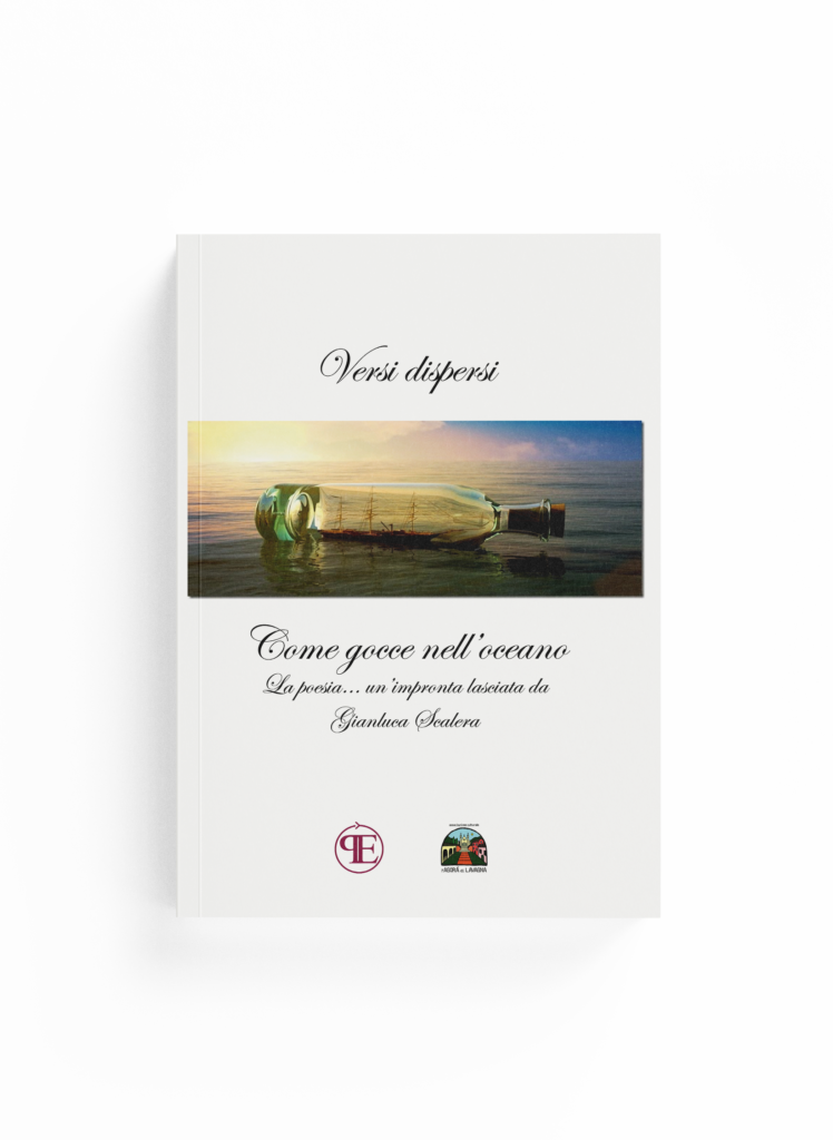 Book Cover: Versi dispersi come gocce nell'oceano (Gianluca Scalera)